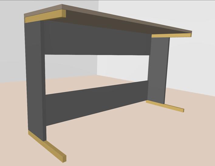 ikea keyboard st nder bzw tisch gestell f r 5 musiker board. Black Bedroom Furniture Sets. Home Design Ideas